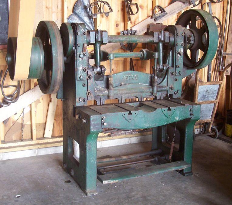 Antique Tooling Joel Sanderson Metal Workshop Metal Working Machines Machine Shop Projects