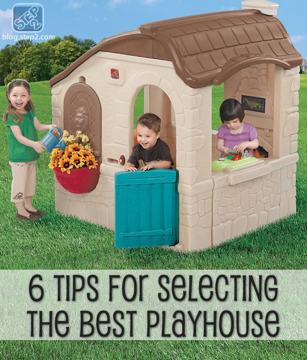 6 tips for selecting the best playhouse outdoor fun kids rh pinterest co uk