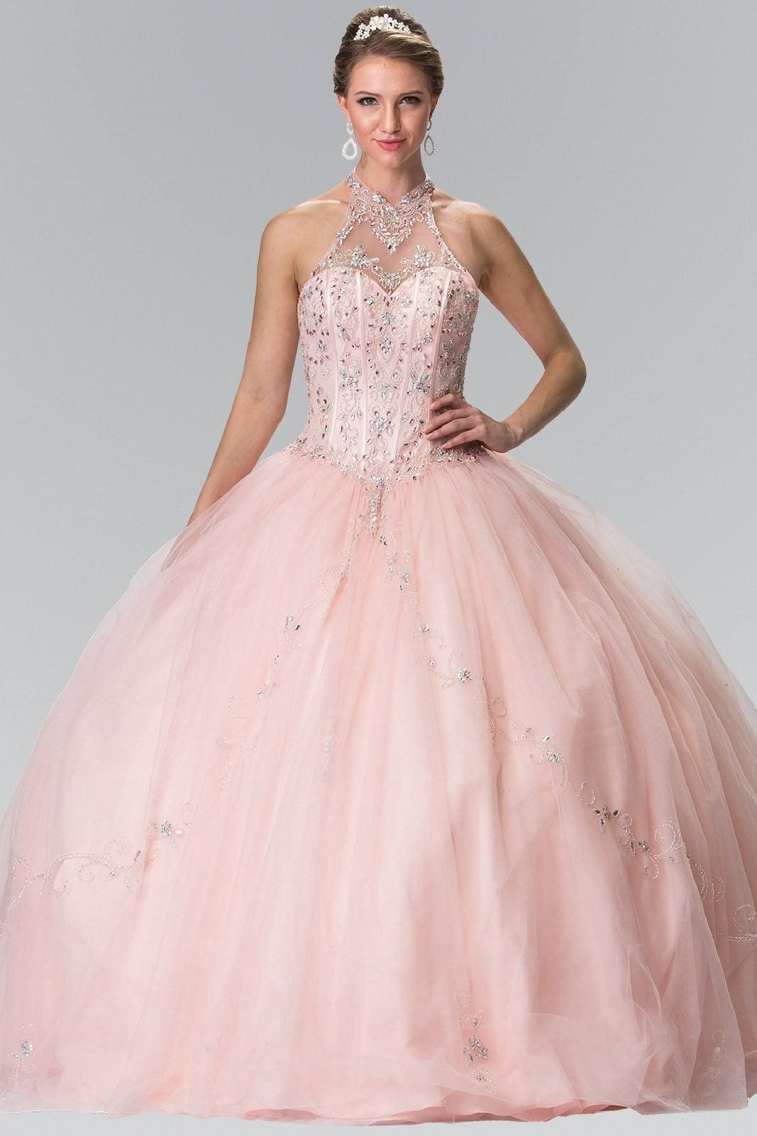 Pink Quinceanera sweet 15 dress gl2348pk | Quinceanera ideas ...