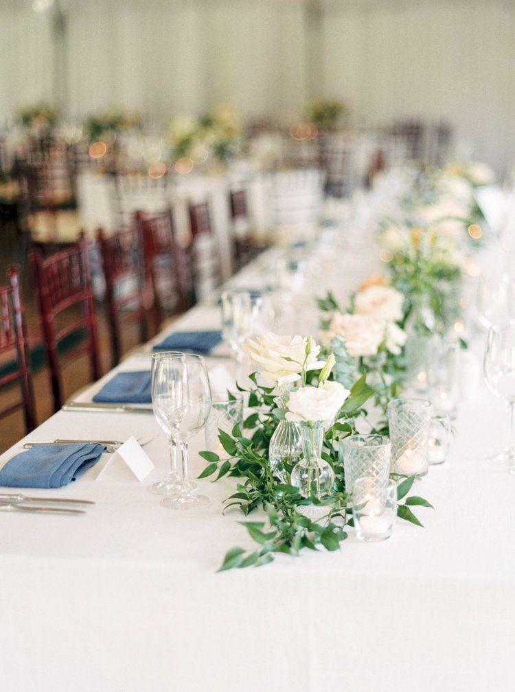 head table garland the santaluz club compass floral wedding rh pinterest com