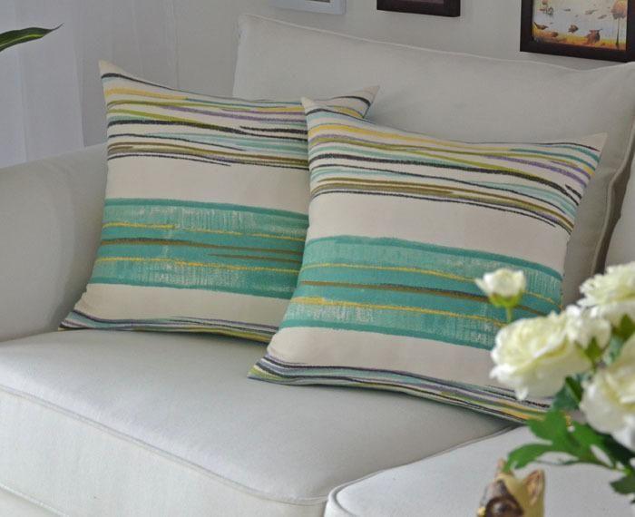 Cheap Stripes Pillow for the Sofa Chair Cushion Mat Covers