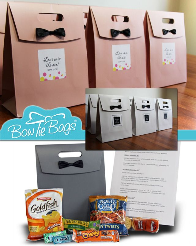 Gifts For Out Of Town Wedding Guests: Wedding Guest Welcome Gifts