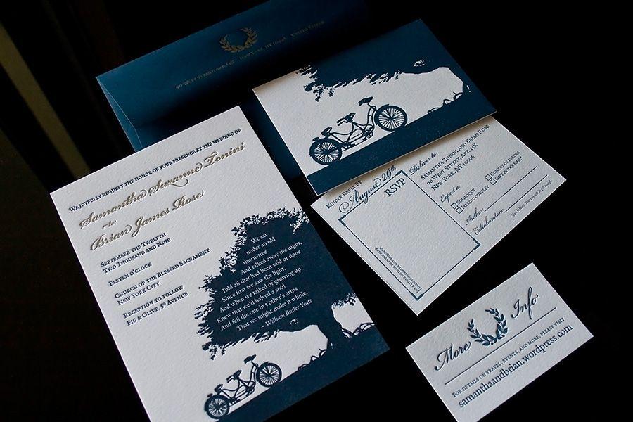 Letterpress Wedding Invitations Fresh Impression Letterpress