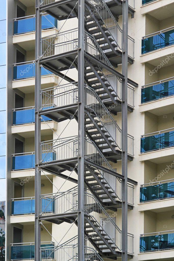 Best Building Exterior Fire Escape Stairs For Emergency Fire 400 x 300