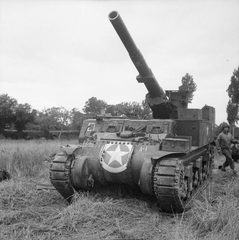 German 50 Mm Anti Tank Gun: A Self-propelled 155mm M12 Gun From The 987th Field