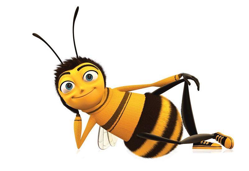 Bee Sticker Bee Movie Bee Cartoon Bee