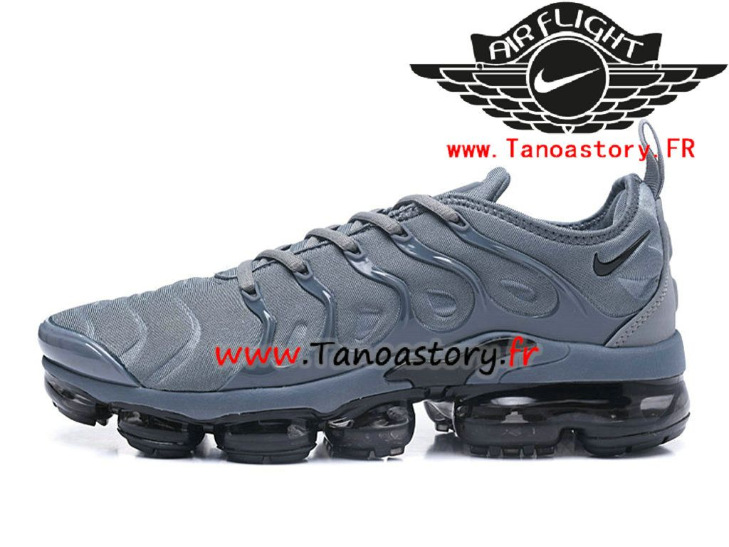closer at great prices best deals on Chaussures Homme Nike Air VaporMax Plus 2018 Prix Pas Cher Gris ...