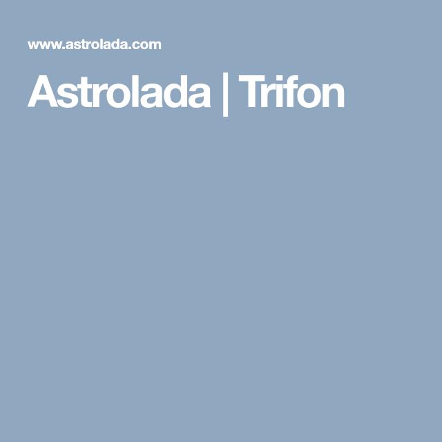 Astrolada | Trifon | Astrology | Ios, Astrology