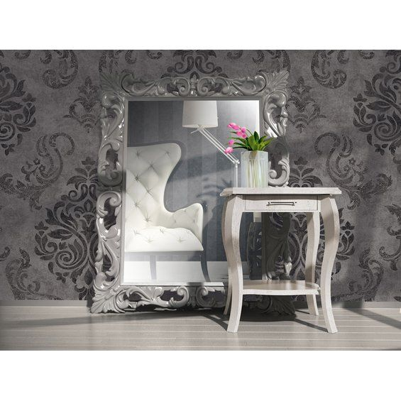 AS Creation Vliestapete Elegance Barock Grau - schlafzimmer barock
