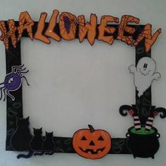 marcos para halloween - Buscar con Google | christmas craft ...