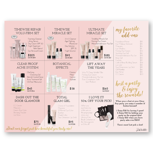 Party Essentials Mary Kay Skin Care Mary Kay Inspiration Selling Mary Kay