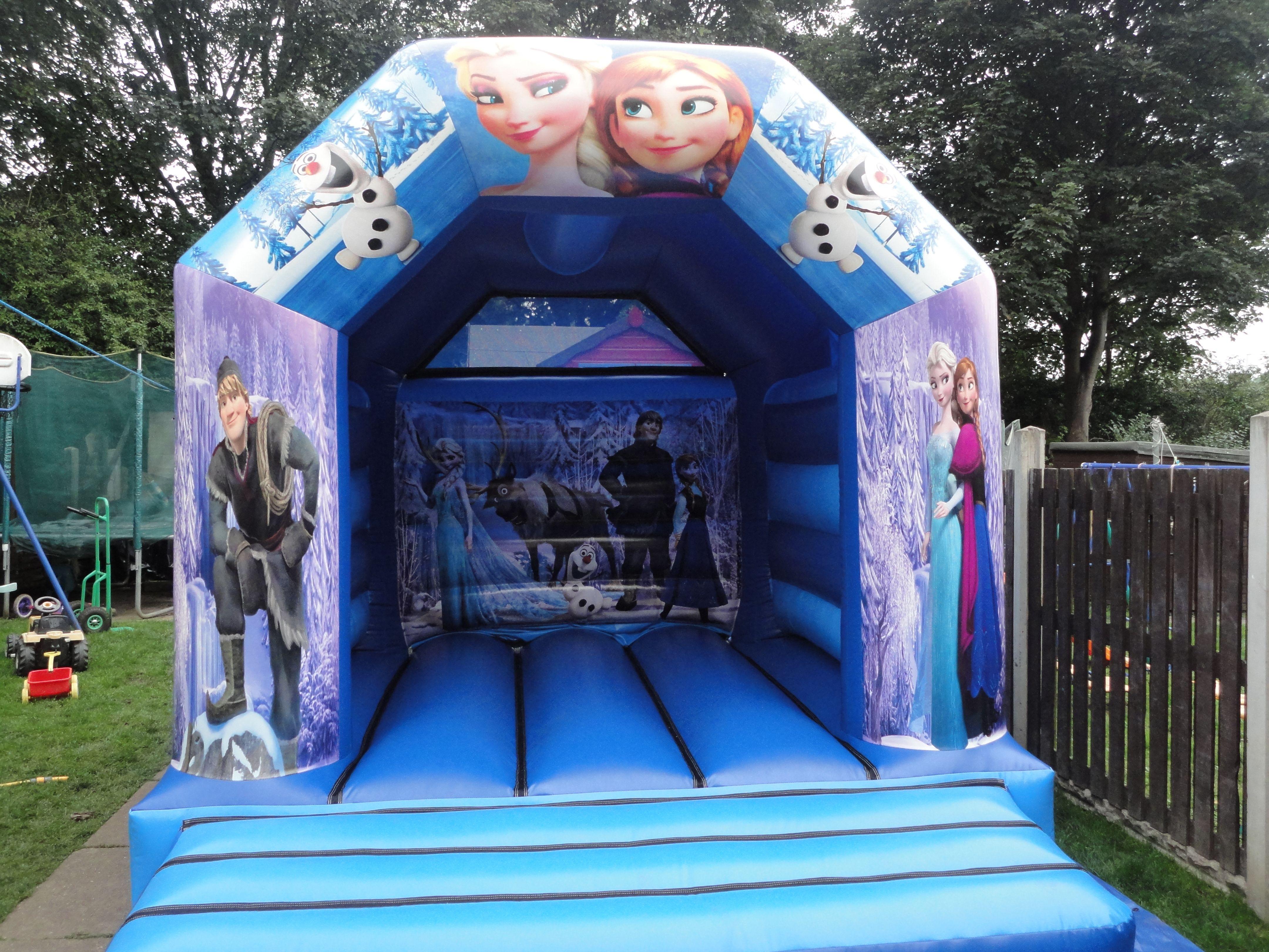 frozen kids bouncy castle hire sheffield