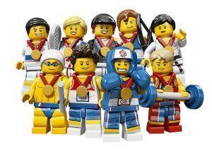 LEGO MINIFIGURES TEAM GB SERIES HORSEBACK RIDER 8909