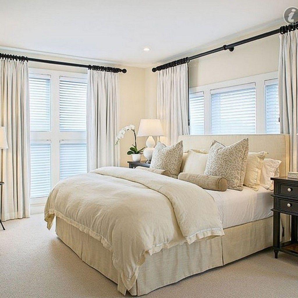 Bedroom window ideas  elegant window treatment ideas for master bedroom  master