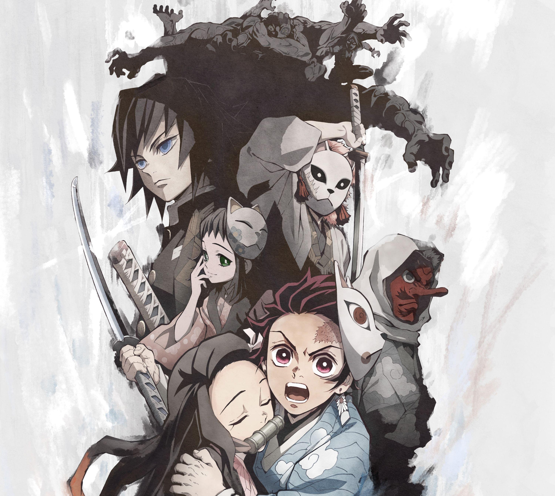 Kimetsu no yaiba Animé, Demon slayer, Démon