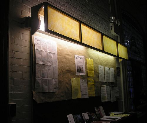 Fluorescent Light Fixture Box: Wood Frame And Fabric/paper To Create A Light Box For