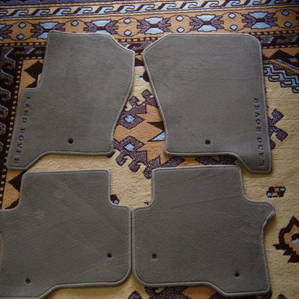 Ad Ebay 08 09 Lr3 Land Rover 10 12 Lr4 Oem Grey Carpet Floor Mats Set Lr006433 Gtop Grey Carpet Boho Carpets Carpet Flooring