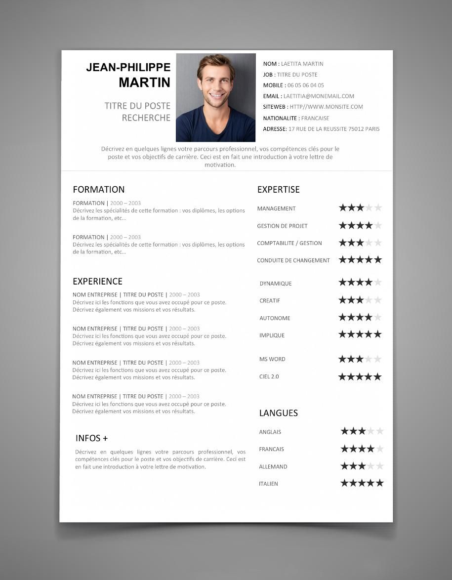 38 Telecharger Modele De Cv Free Resume Template Word Best Resume Template Curriculum Vitae Template Free