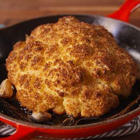 Thanksgiving Cauliflower Is A Vegetarian Masterpie