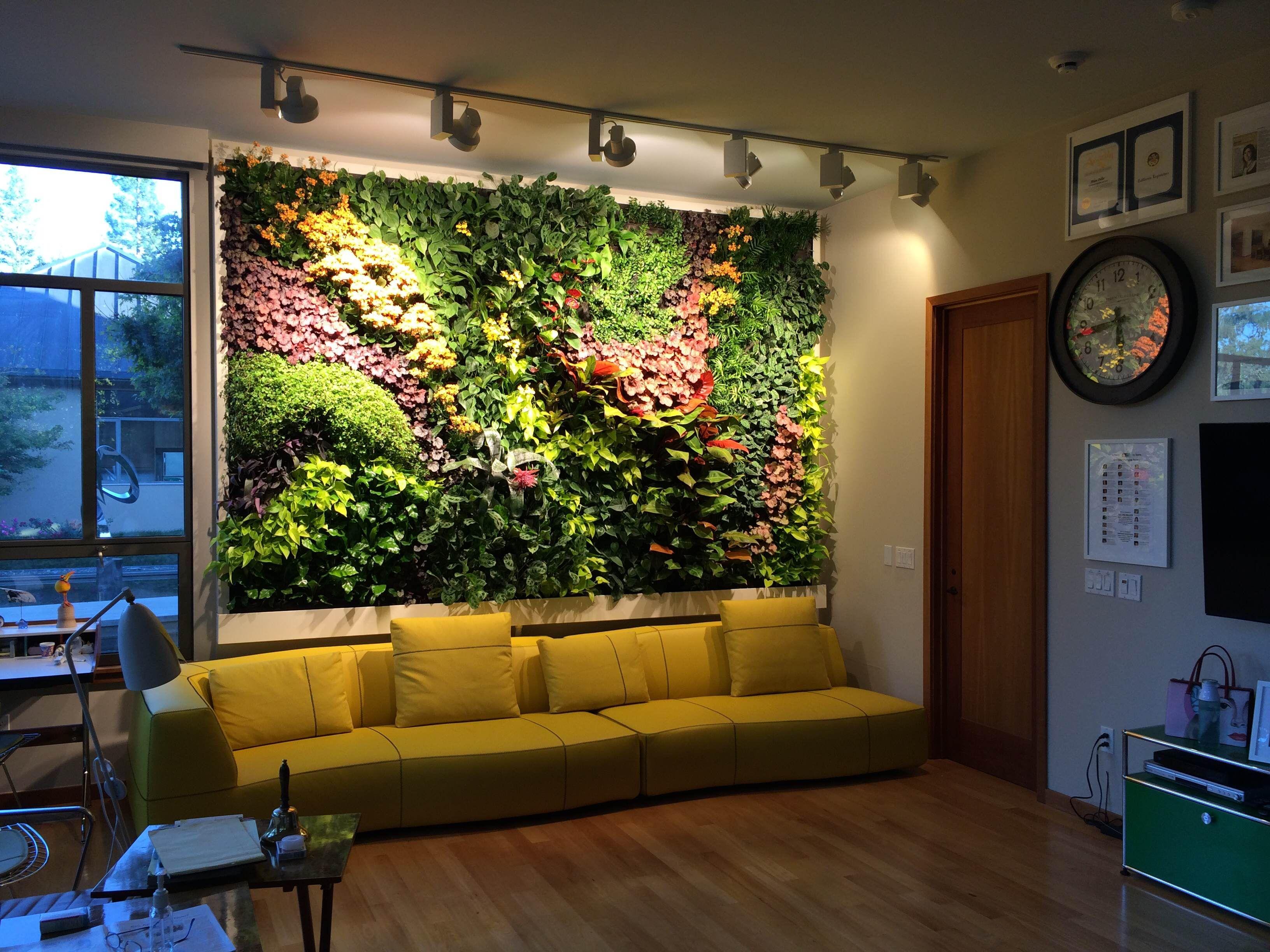Mountain Home Rd. Living Wall, Woodside vertical garden - Habitat ...