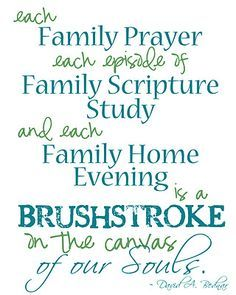 scriptures on family