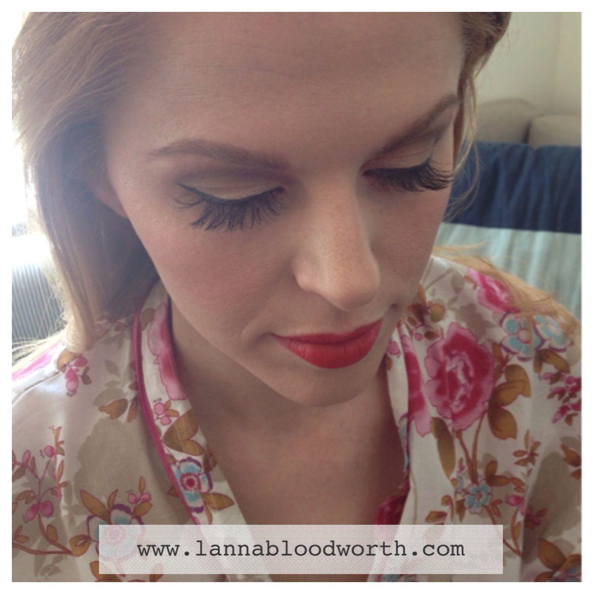bridal makeup by lanna bloodworth. makeup artist destin florida