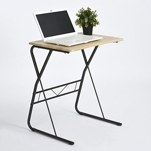 viseeko compact computer desk end table side coffee snack table for rh pinterest com