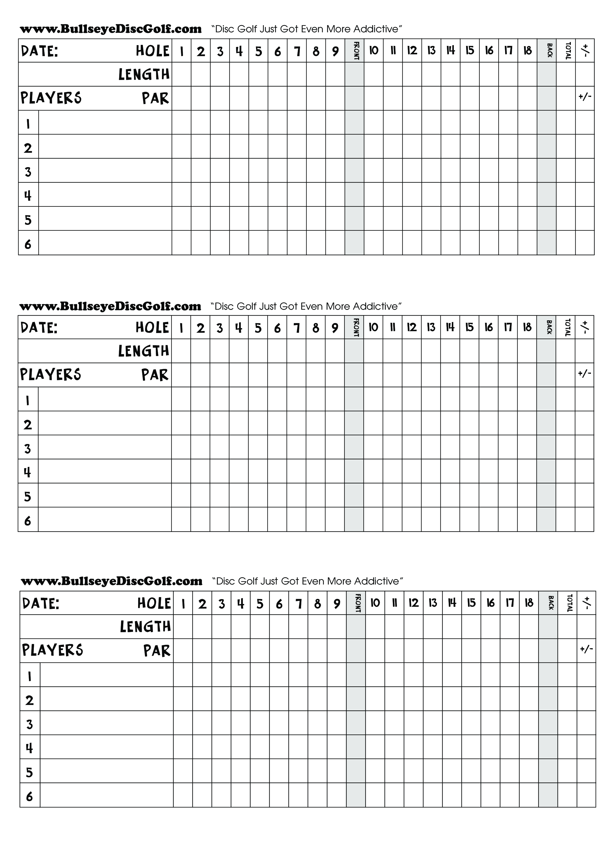 image regarding Disc Golf Scorecard Printable identified as Golfing Scorecard - How in direction of make a Golfing Scorecard? Obtain