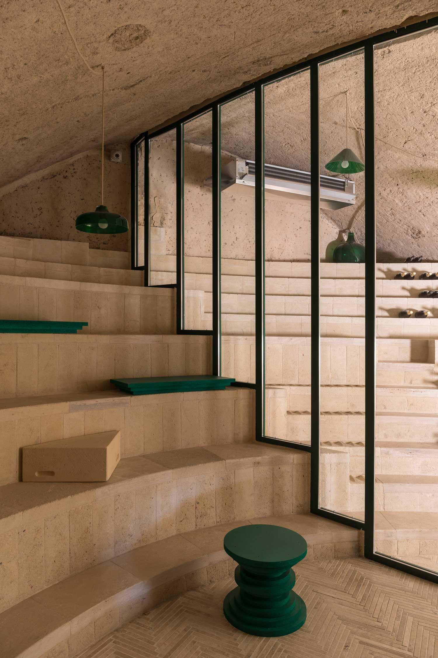 Enoteca Dai Tosi In Matera Italy By Architecten De Vylder Vinck Taillieu Architecture Architecture Building Italian Village