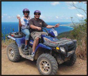 Gecko's Island Adventures: ATV Tours, St. Croix, US Virgin Islands