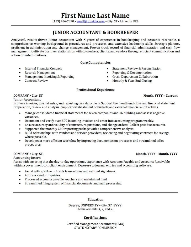 Resume Examples Accounting Resumeexamples Resume Examples Resume Skills Accountant Resume