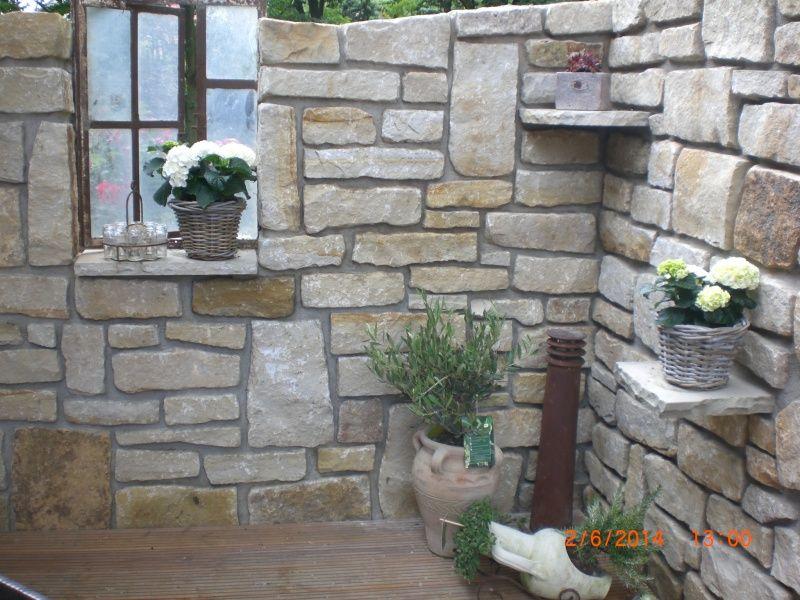 natursteinmauer garten pinterest natursteinmauer. Black Bedroom Furniture Sets. Home Design Ideas