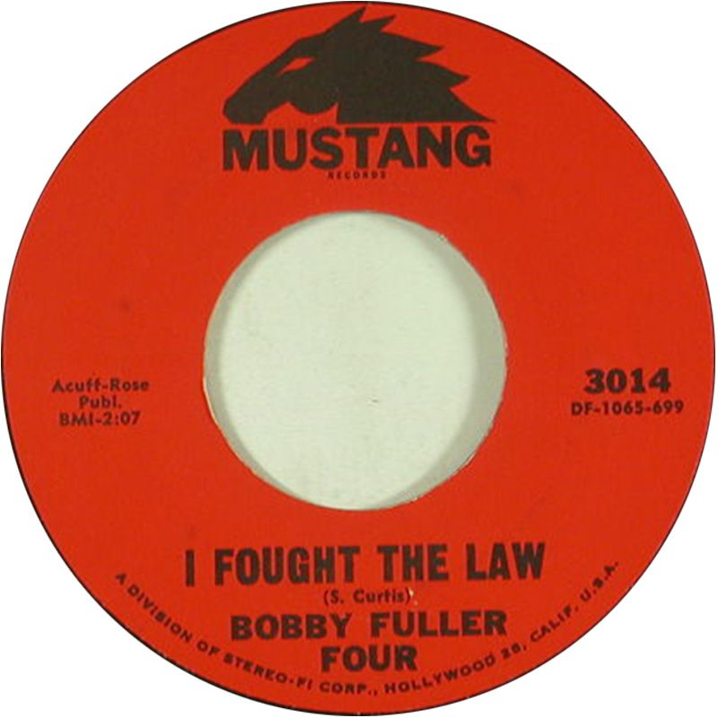 I Fought The Law Bobby Fuller Four 1966 Oldies Music Music Charts Music Memories