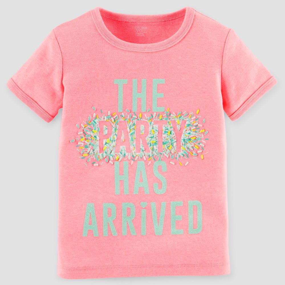Baby Girls Birthday Tee Pink 3T