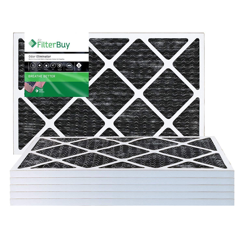 FilterBuy Allergen Odor Eliminator 20x25x1 MERV 8 Pleated