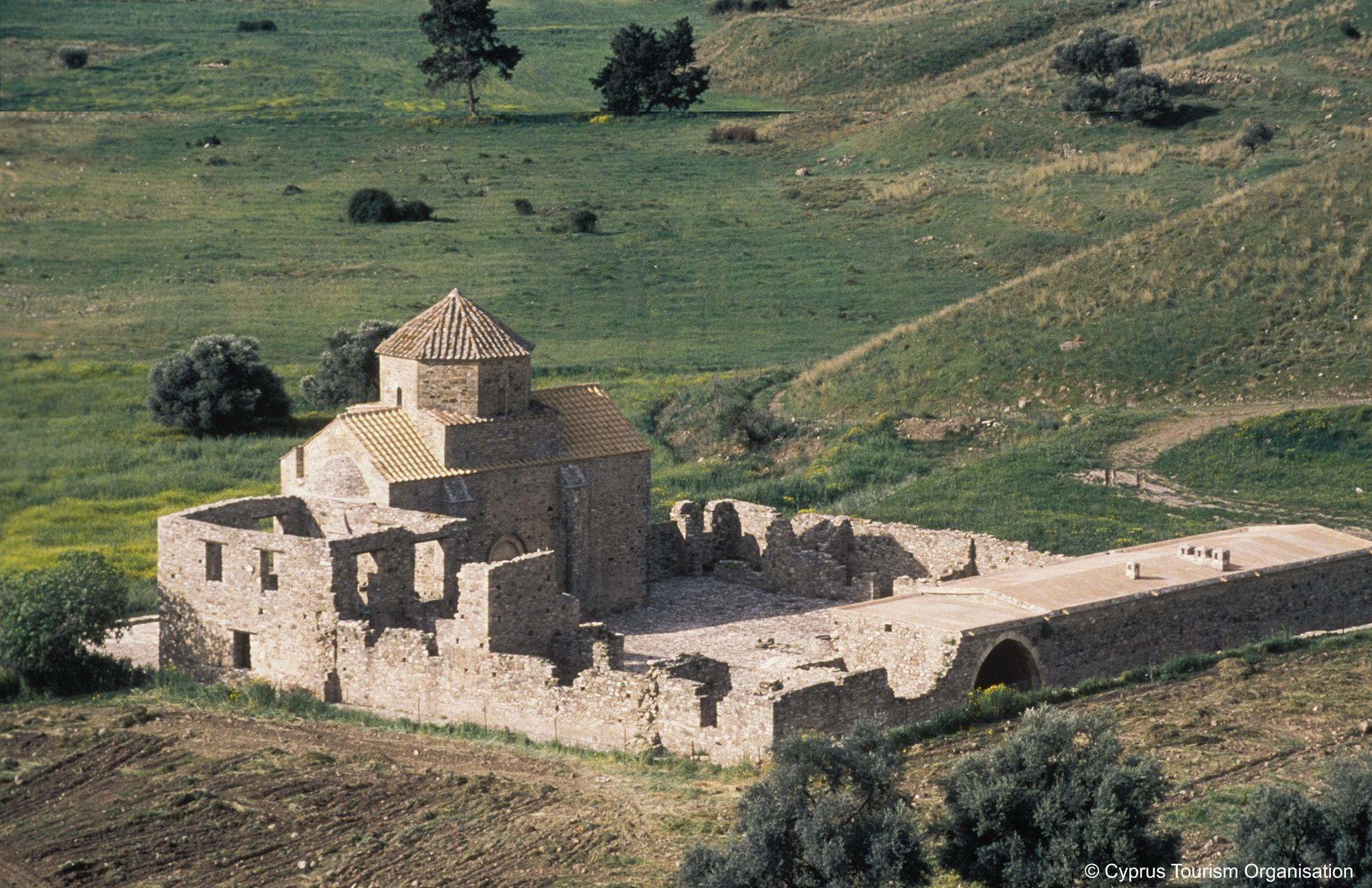 Cyprus Pentalia Village Panagia Tou Sinti Monastery An