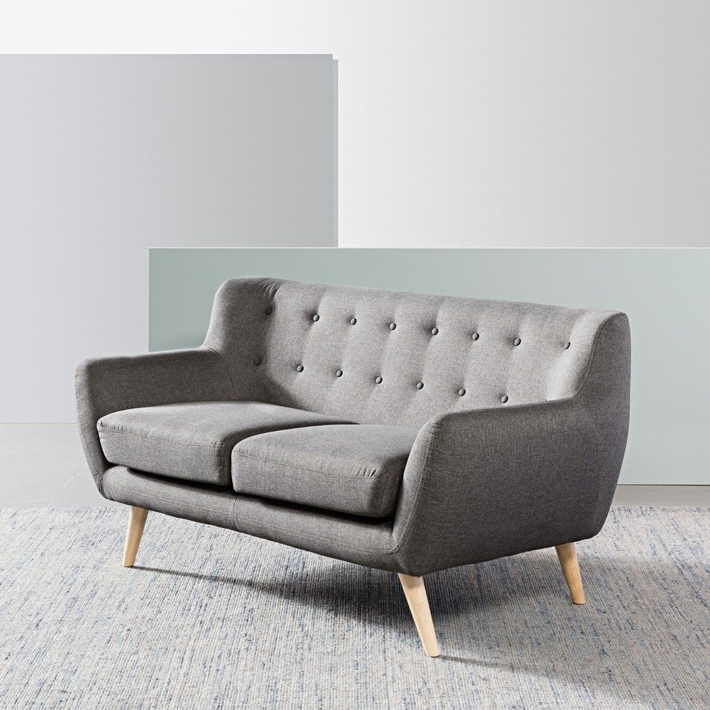 sixties 2 seater sofa dark grey icons rh pinterest com