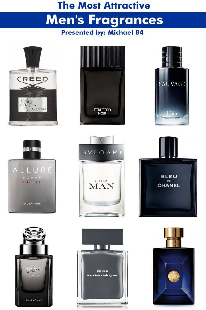 Best Men's Fragrances To Attract Women: The Most