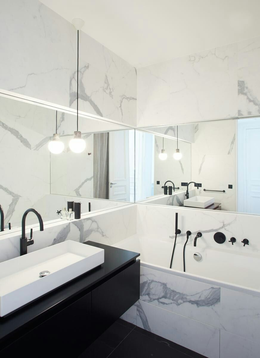 COCOON marble bathroom design inspiration | high end stainless steel ...