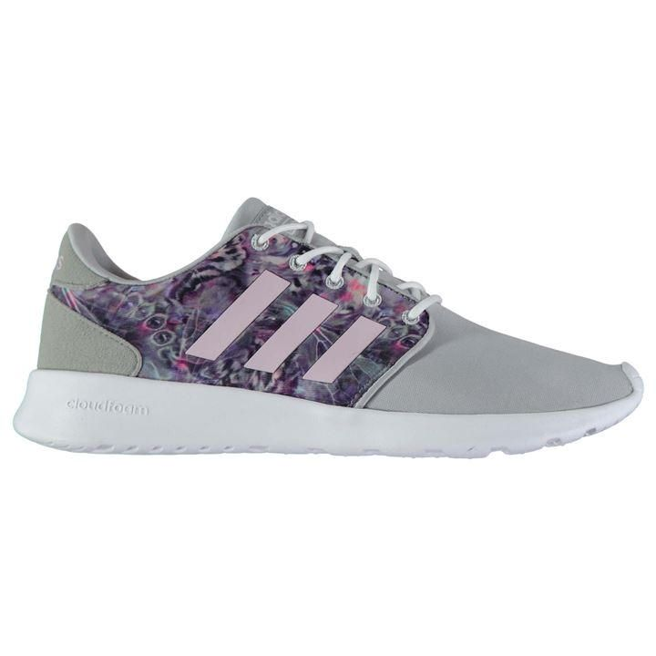 adidas cloudfoam racer trainers ladies