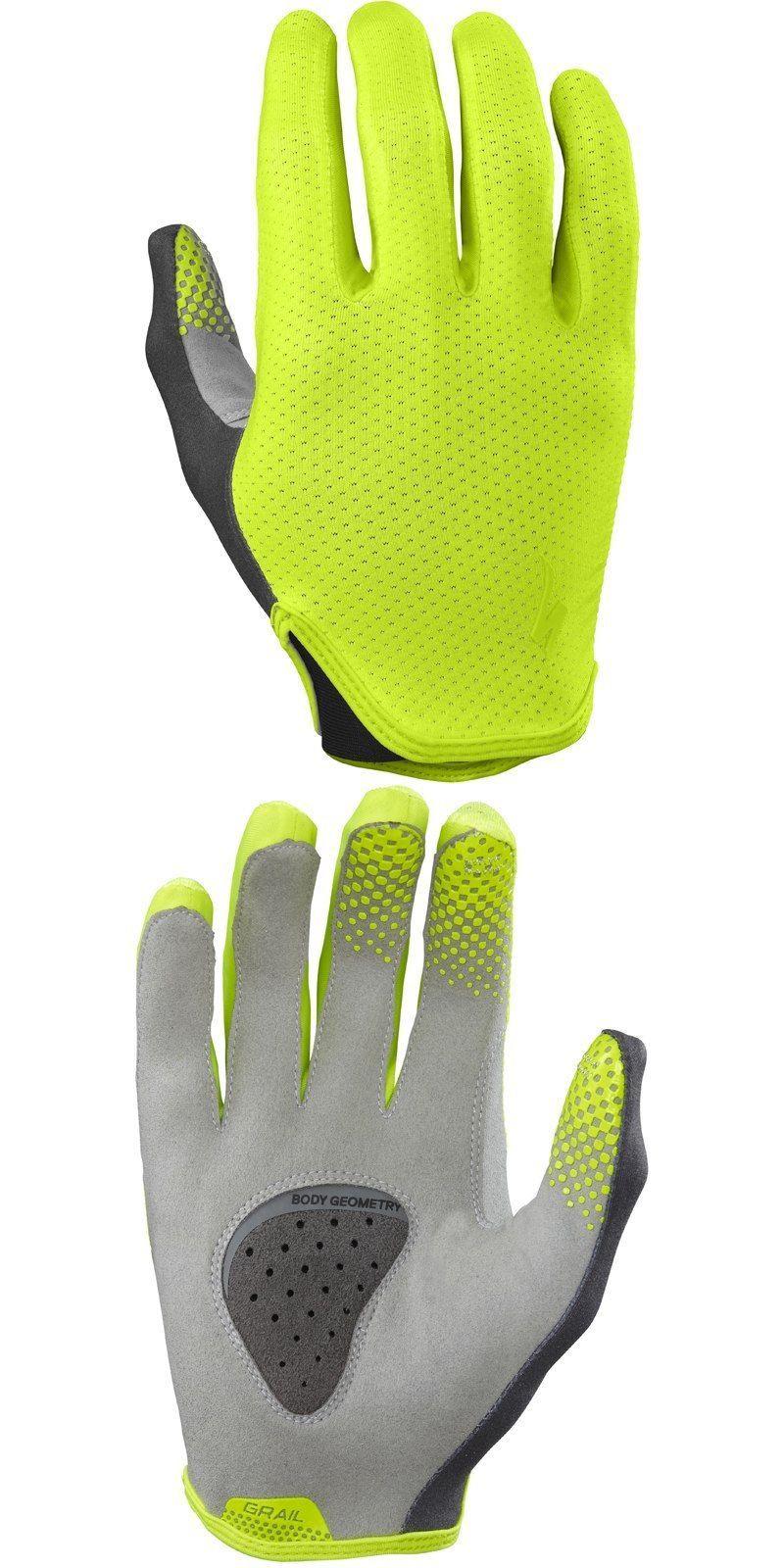 Gloves specialized body geometry grail wiretap long finger