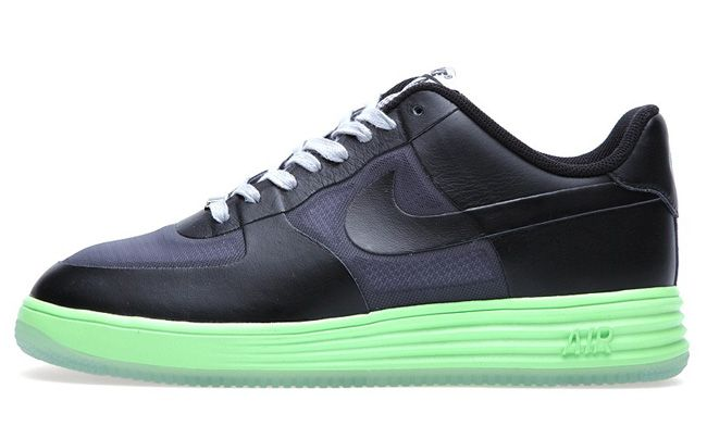 "new concept 1331a 16b8a Nike Lunar Force 1 Fuse Leather ""Neon Green"""