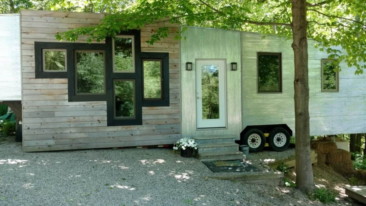 tinyhaus tiny house for sale in sand lake michigan tiny house rh pinterest com