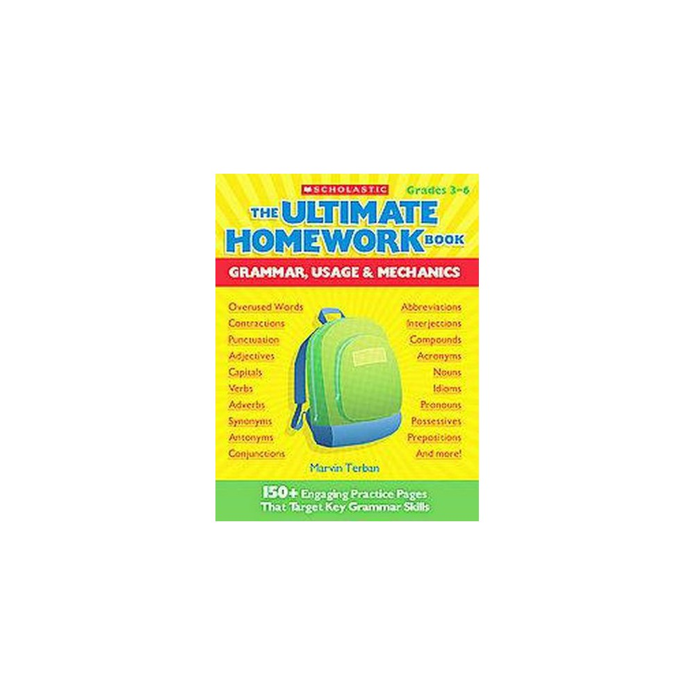 the ultimate homework book by marvin terban