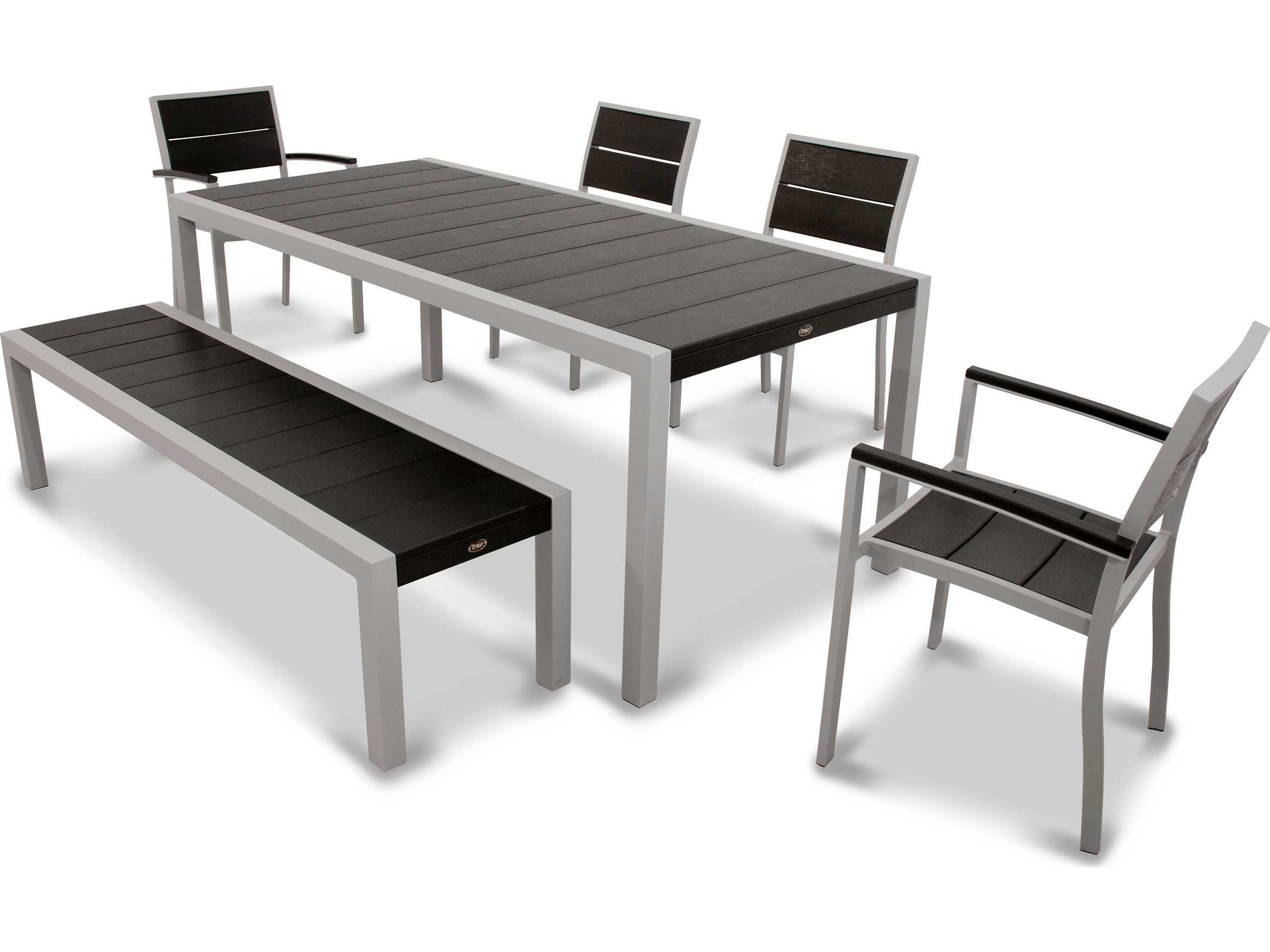 Q    Trex® Surf City Recycled Plastic Dining Set