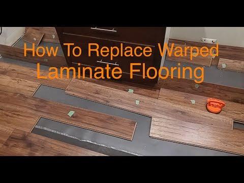 How To Replace Warped Water Damaged Laminate Floor Boards Youtube Laminate Flooring Flooring Wood Laminate Flooring