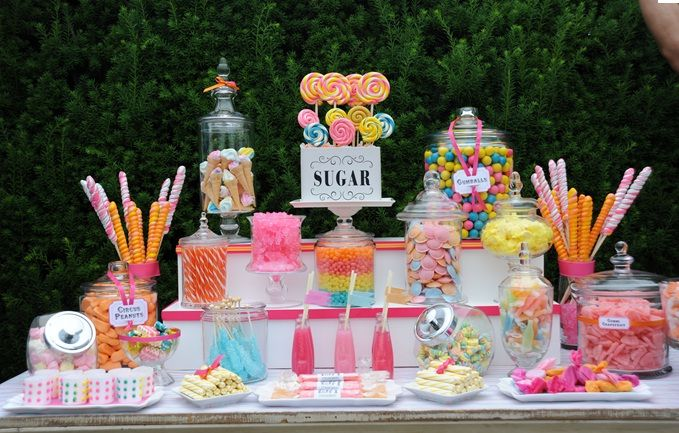 candy table inspiration candy candy bar wedding candy party rh pinterest com