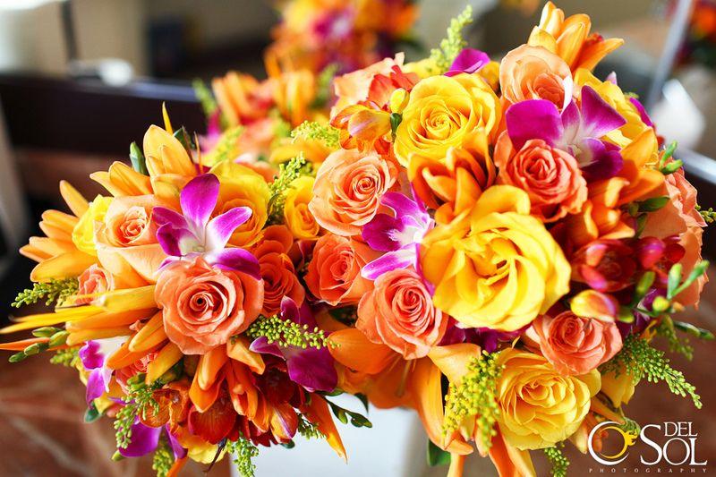 Caribbean Wedding Bouquet