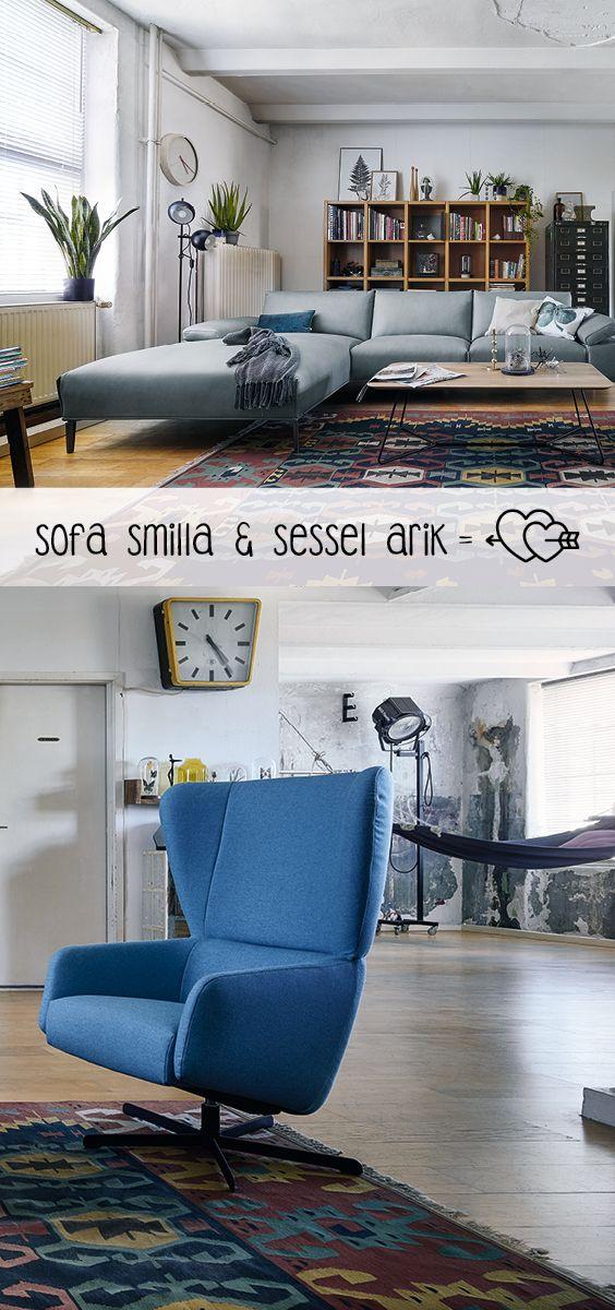 Ob Retro oder Cool. Sessel Arik ist ein liebenswerter ...