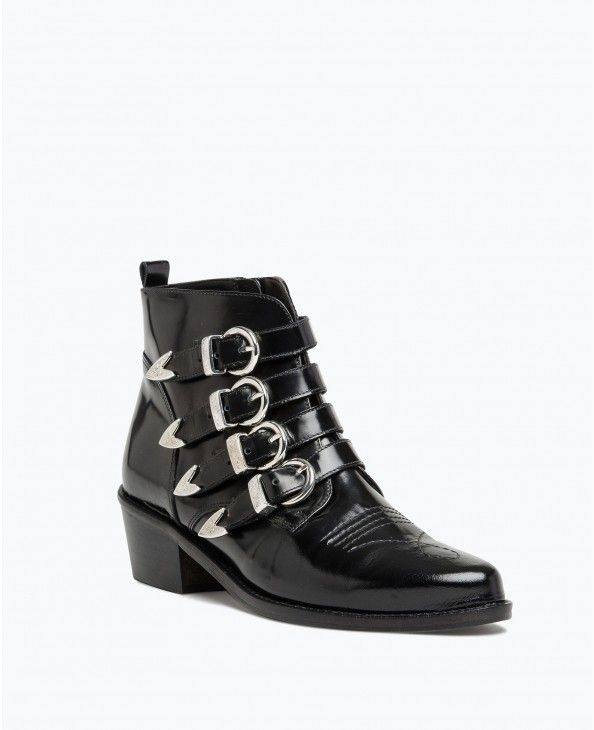 07110947f21 BOOTS MULTI BOUCLES